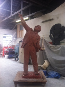 Sir Robert Watson-Watt Clay Statue