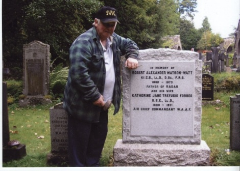 Tom Church - Cleaned Gravestone